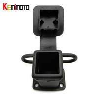 KEMiMOTO Receiver Hitch For Jeep Hitch Cover Class IV V 2 Black For Toyota Rubber Plugs