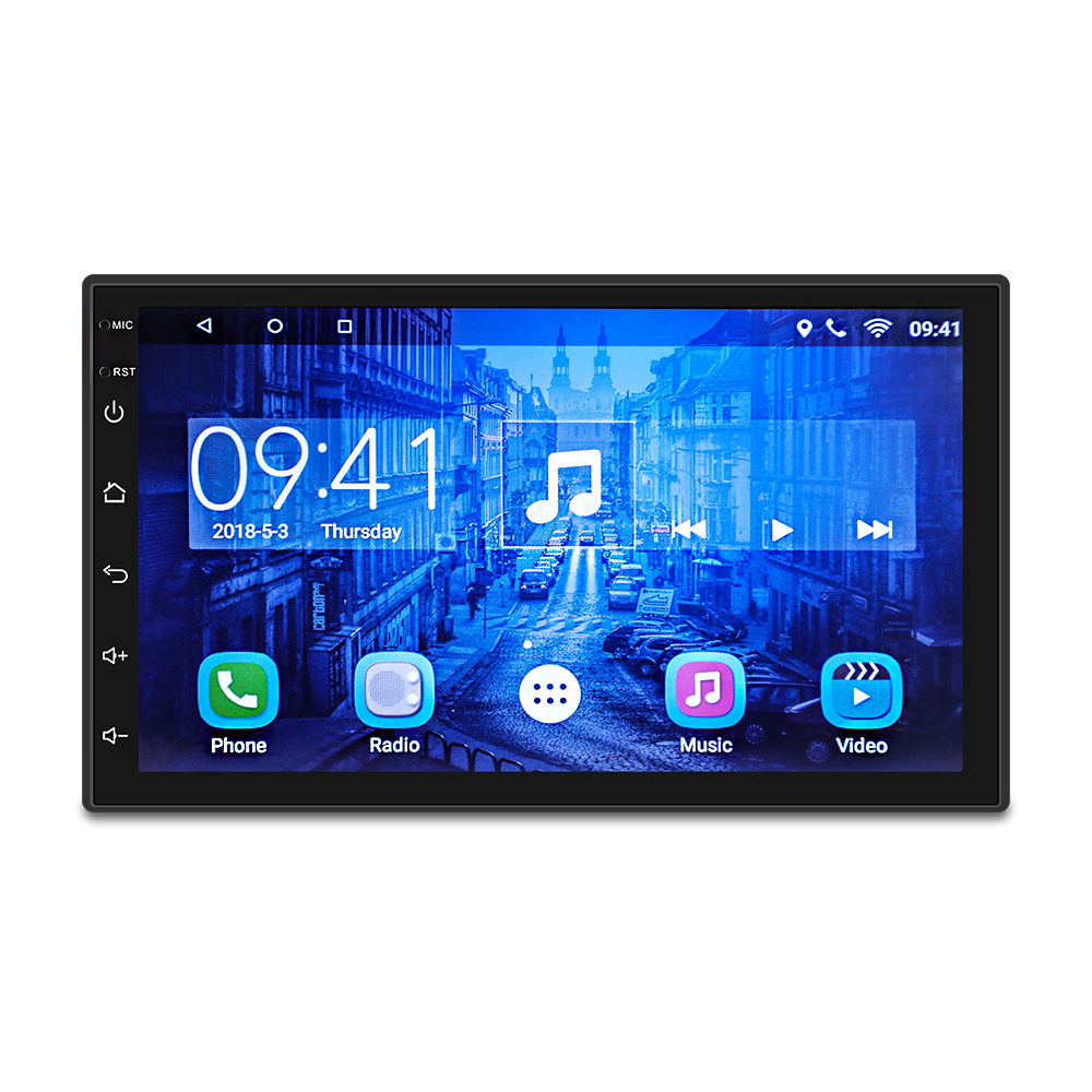 2 Din Car Radio Android 8.1 Universal GPS Navigation Bluetooth Touch Screen Wifi Car Audio Stereo FM USB Car Multimedia MP5 myers briggs type indicator