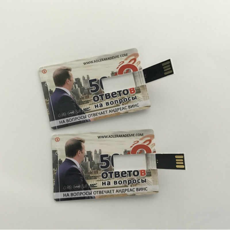 Movimentação feita sob encomenda livre do flash de usb do cartão de crédito do logotipo 128 m 4 gb 8 gb 16 gb personalizado fotografia logotipo memória vara pendrive 32gb u disco