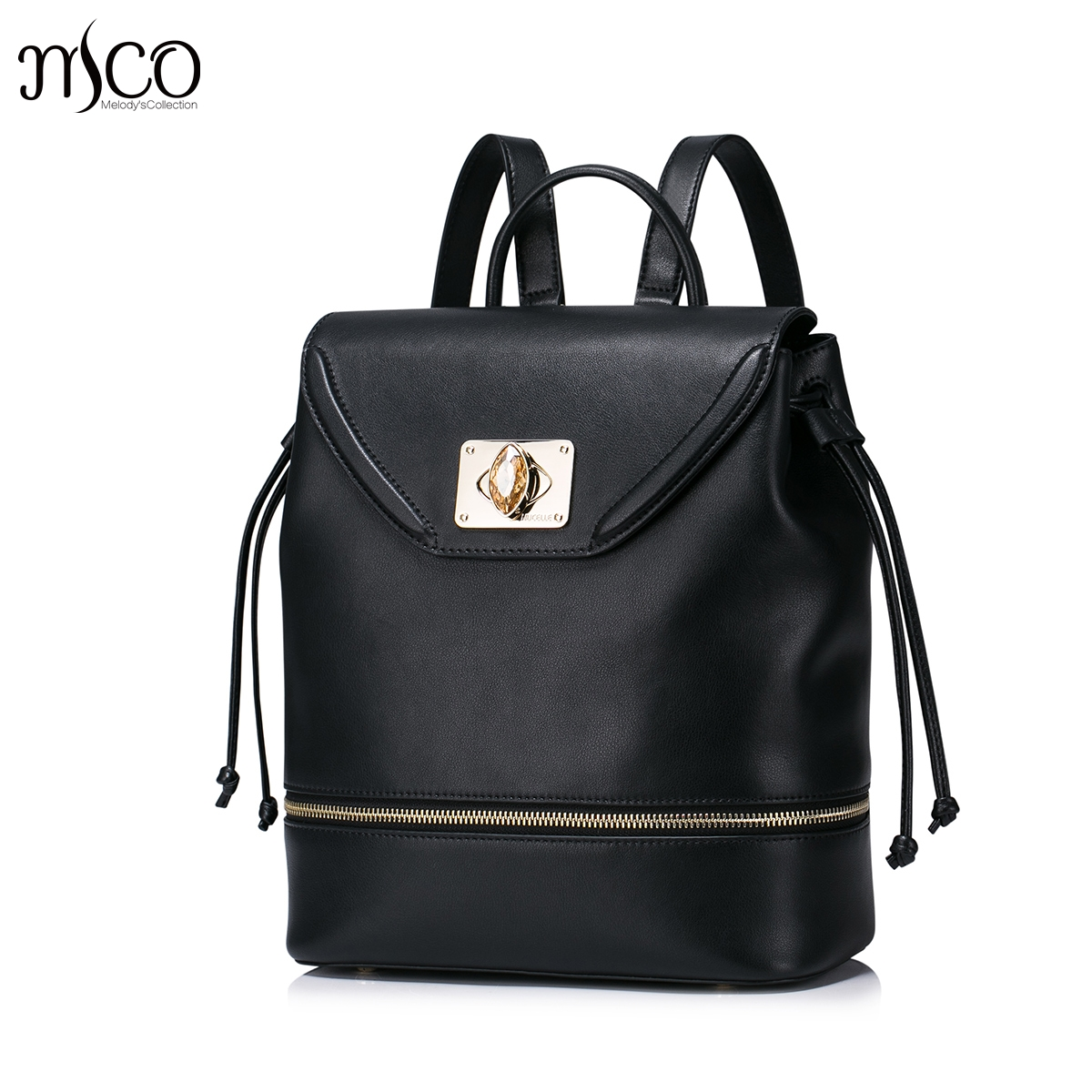 8e264c4fc6 Women s Zip Split Leather Backpack Female Diamond Lock Daily Shoulder  Drawstring Bags Ladies Travel bags Daypack For Girls on Aliexpress.com