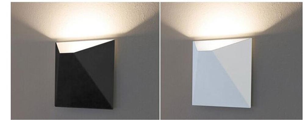 HTB1oXgHcesAV1JjSZFsq6ydZXXa8 - LED Modern Geometric Iron Acryl Black White DIY Magic Box LED Lamp LED Light Wall lamp Wall Light Wall Sconce For Store Bedroom