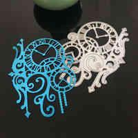 Metallo Stampi di taglio Cerchio Artigianale In Acciaio Die Taglio Goffratura creare carta di fare Stencil