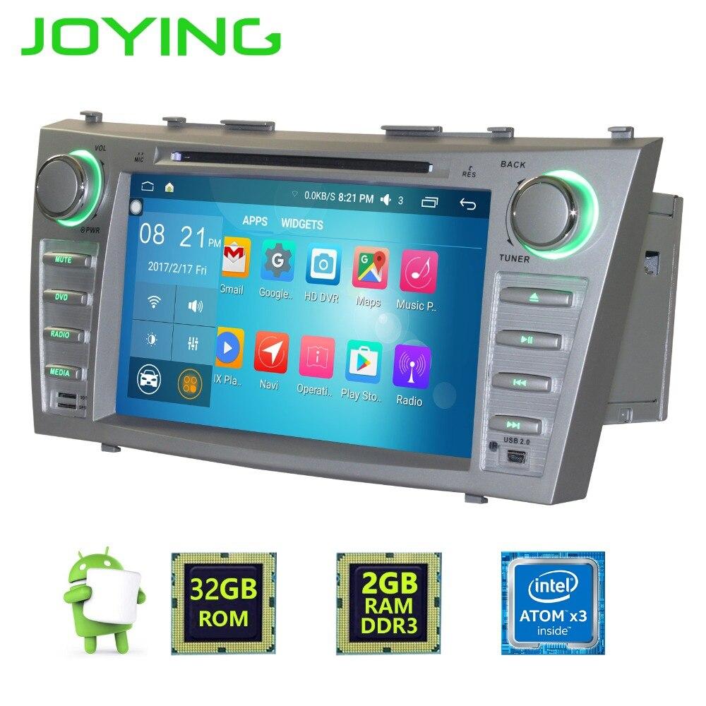 Радуясь 8 «1024*600 двойной 2 DIN 4 ядра Android 6.0 автомобиль Радио стерео GPS навигации для Toyota Camry головное устройство мультимедиа