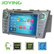 "Joying 8 ""1024*600 Çift 2 Din Quad Core Android 6.0 Toyota Camry Için Araba Radyo Stereo GPS Navigasyon Kafa Ünitesi multimedya"
