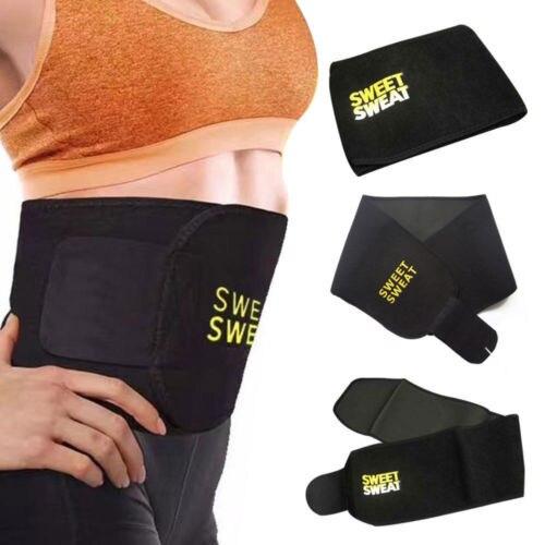 Unisex Cummerbunds Men Women Sweat Belt Waist Trimmer Belt Shapers Black Waist Cinchers Trainer Corset Shapewear 4