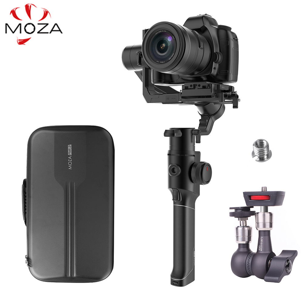 Moza Air 2 3-Axis Handheld Stabilizer w/ Bag for DSLR Mirrorless Camera for Sony A7 Canon 5D vs Feiyu AK4000 DJI Ronin S Crane 2Moza Air 2 3-Axis Handheld Stabilizer w/ Bag for DSLR Mirrorless Camera for Sony A7 Canon 5D vs Feiyu AK4000 DJI Ronin S Crane 2