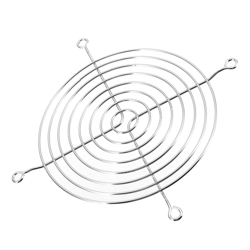 Wholesale 120mm 12cm Metal Cpu Cooling Fan Grill Silver Wire Finger