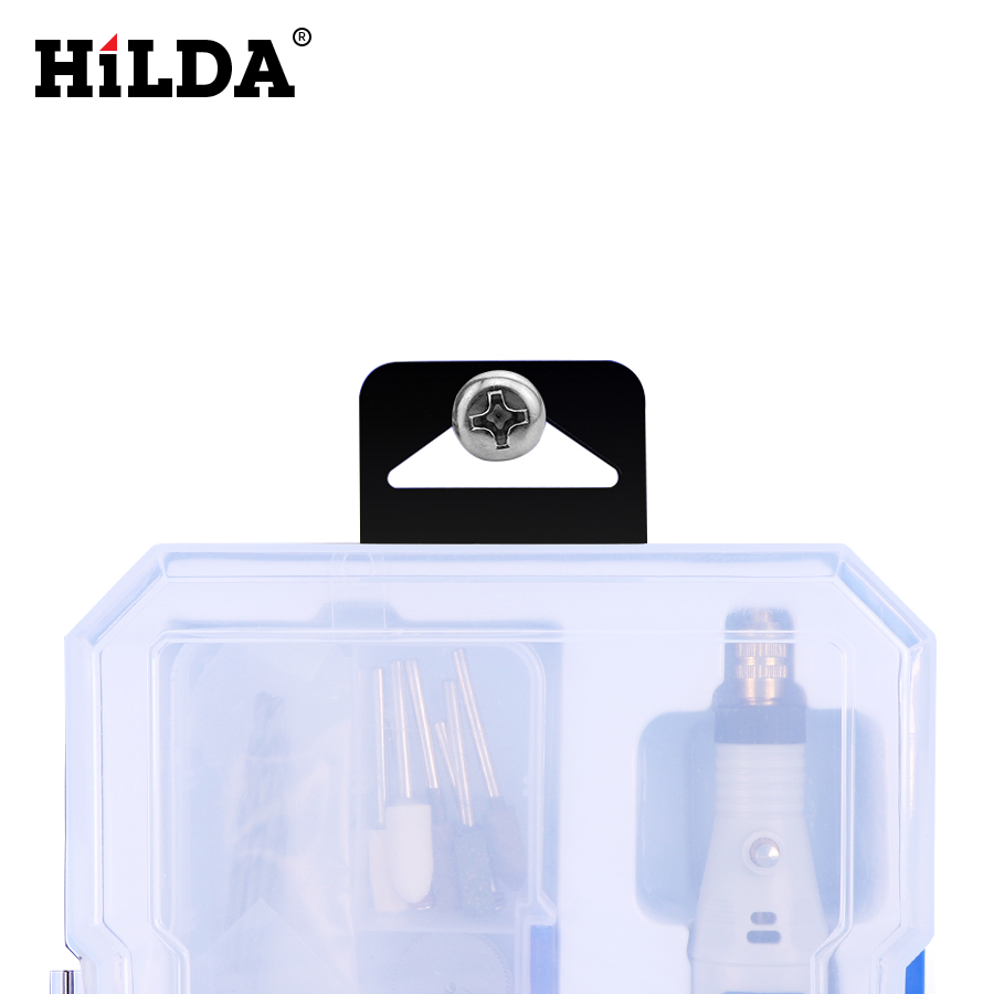 Image 5 - HILDA Mini Drill Rotary tool 18V Engraving Pen With Grinding Accessories Set Multifunction Mini Engraving Pen For Dremel tools-in Electric Drills from Tools on