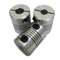 Diameter 25mm Length 30mm Flex Clamp Shaft Coupling Connector 6 35mm To 8mm Shaft Coupler 6
