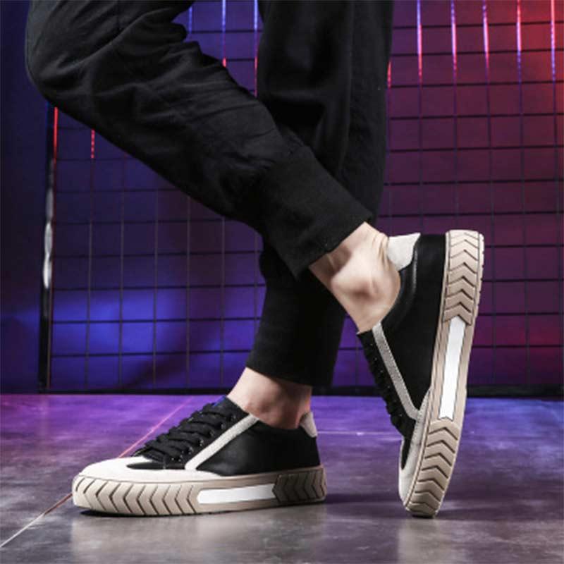Frenillo 2019 Suela Negro Transpirable Zapatos blanco Tuzblobo De Gruesa Casuales Moda Los Hombres Simple TIqC8