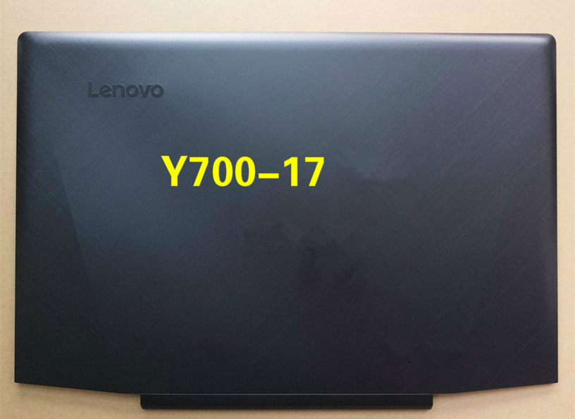 New Original Lenovo Y700-17ISK LCD Back Cover Rear Lid Black AM0ZH000200 new original for lenovo thinkpad yoga 260 bottom base cover lower case black 00ht414 01ax900