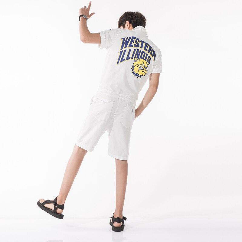M-2XL! 2018 летние льняные мужской комбинезон тенденция белье Twinset комбинезон Шорты комплект