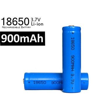 20pcs/lot kingwei 18650 Li-Ion Battery 3.7v 900mah Batteries Rechargeable Bateria For Flashlight LED Laser Torch
