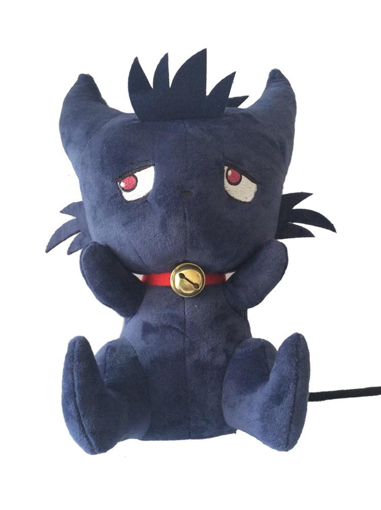 New Cute Cartoon 35cm Servamp Sleepy Ash Black Cat Plush Soft Animal Stuffed Toy For Baby Kids Birthday Gifts Good Quality
