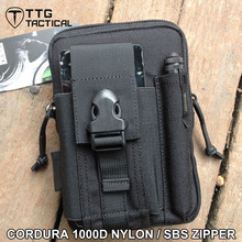 Tactical Molle EDC Utility Pouch Gadget Belt Waist Bag with Cell Phone Holster Holder