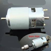 Double Shaft 775 DC Motor Ball Bearing Motor Power 100W Taiwan Saw Bench With Fan Mill