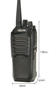 Image 4 - Самая дешевая цена двухстороннее радио Chierda ручной высокое качество woki toki 10 км CD K16 рация FRS/GMRS K16