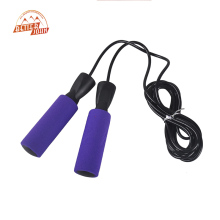 2017 New 3M Bearing Jump Rope Fitness Bodybuilding Equipment Sponge Handle Quality Skipping crossfit Jump Rope 6 Colors