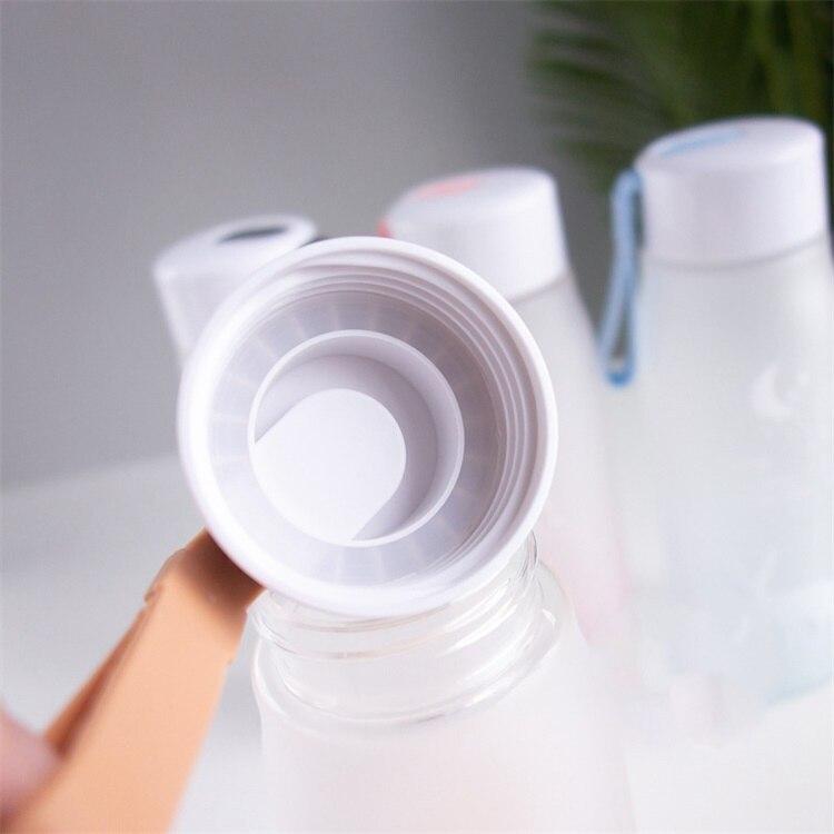 HTB1oXjNOAzoK1RjSZFlq6yi4VXaK 560ml Water Bottle Leak Proof for Girl Biking Travel Portable Water Bottles Plastic H1177
