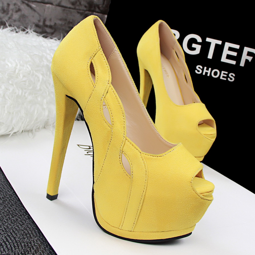 ФОТО Women Pumps 2017 Spring New Urtal Thin High Heels 14 Cm Women Shoes Peep Toe Quality Cool Sexy Ladies Flock Shoes SMYDS-B0015