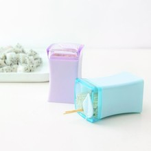 Household portable toothpick box squaretoothpicks creative living room toothpicks extinguishers 5*5*8CM Free shipping