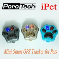 V30 wifi Impermeabile Pet Mini GPS Tracker GSM GPRS phone APP Real-Time tracking per cani gatti bambini furto con global GPS location