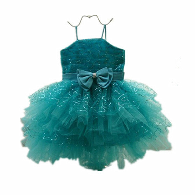 BBWOWLIN Newborn Baby Clothes Girls Dresses Chiristmas Flower Girl Dresses 1 Year Birthday Dress  Vestido Infantil Menina 8079 2017 lovely toddler girl dress princess stripe tutu baptism child clothes 1 year birthday baby girls dresses for infant 2 year