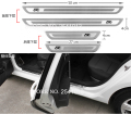 Accessories For VW Volkswagen Passat b6 b7 B8 CC JETTA MK6 POLO Golf 6 GTI Golf 7 MK7 Door Sill Welcome Pedal Stainless Steel