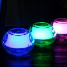 New peculiar creative mini USB luminous crystal humidifier LED night light aroma machine creative car diffuser
