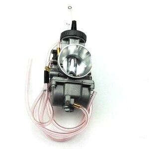 Image 2 - オリジナル34ミリメートル36ミリメートル38ミリメートル40ミリメートル42ミリメートルpwkキャブレターcarburadorユニバーサル2t 4tエンジンオートバイスクーターutv atv