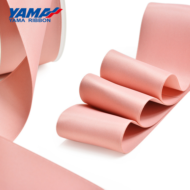 YAMA 100% Polyester Silky Ribbon Double Face  Printed Ribbons 22 25 32 38 mm 100yards Gift Decoration Arts and Crafts