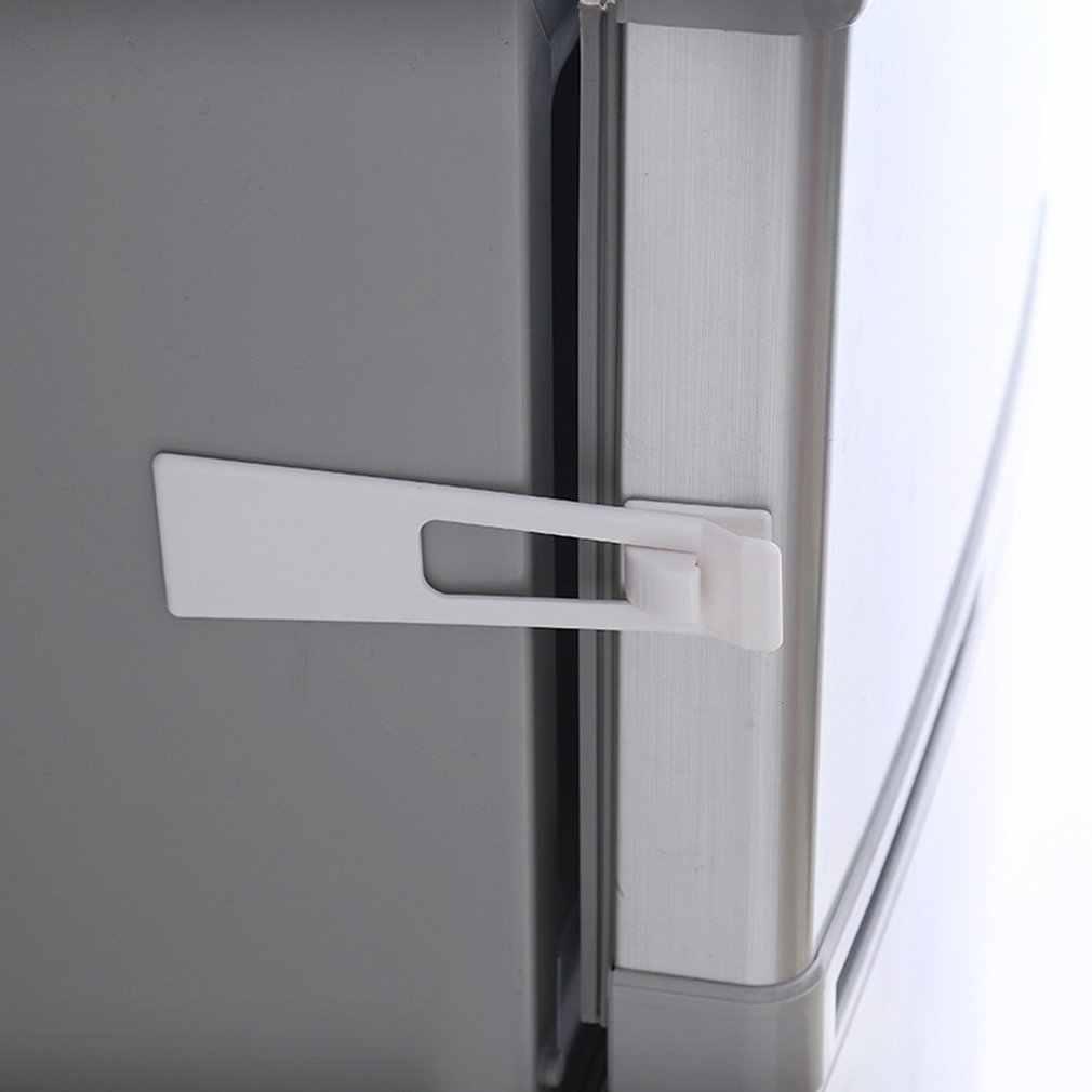 Bebek Çocuk Güvenlik Koruma Kilitleri Buzdolabı Görevlisi Dolap Buzdolabı Kapı Çekmece Ev Kapalı Güvenlik Mandalı kurulumu Kolay