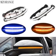 MZORANGE Led Turn Signal Side Light Dynamic For VW Golf MK7 GTI 7 7.5 For Touran Exterior light Rearview Mirror light Flowing цена в Москве и Питере