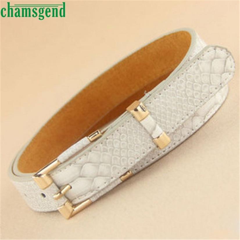 faux leather belt CHAMSGEND Delicate new Female grainy grain waist belt for Lady <font><b>trend</b></font> Free Size Hot Selling W30