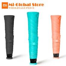 Xiaomi umbracella Марка углеродного Волокно Сверхлегкий Дождливый Солнечный зонтик 85 г только сильно ветрозащитный зонтик лучшее качество