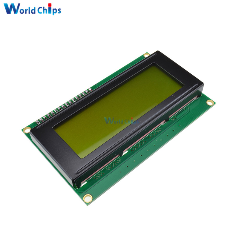 Yellow Display IIC I2C TWI SP I Serial Interface 2004 20X4 Character LCD Module