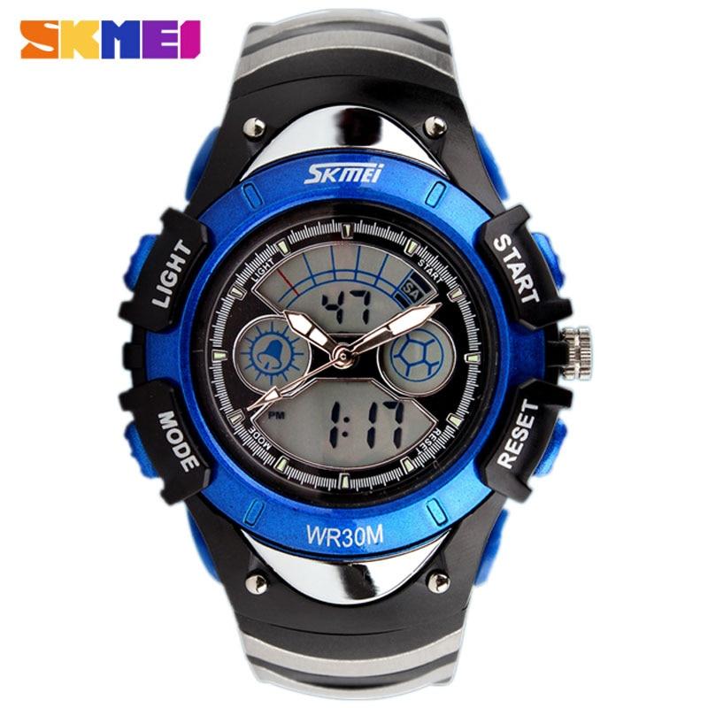Fashion SKMEI Brand Children Sports Watches LED Digital Quartz Military Kids Watch Boy Girl Student Multifunctional Wristwatches
