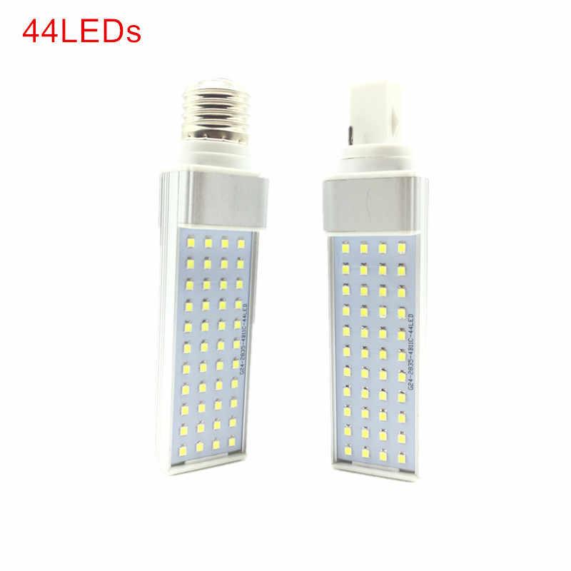 G23/E27/G24 LED אופקי הנורה 7W 9W 11W 13W 15W 18W LED מקורה זרקור AC85-265V חם לבן/קר לבן LED הנורה מנורות אורות