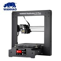 2018 New upgrade WANHAO I3 PLUS 2.0 / wanhao i3 plus MK2 Reprap Developer Prusa WANHAO 3D Printer with Touch Screen Auto Level