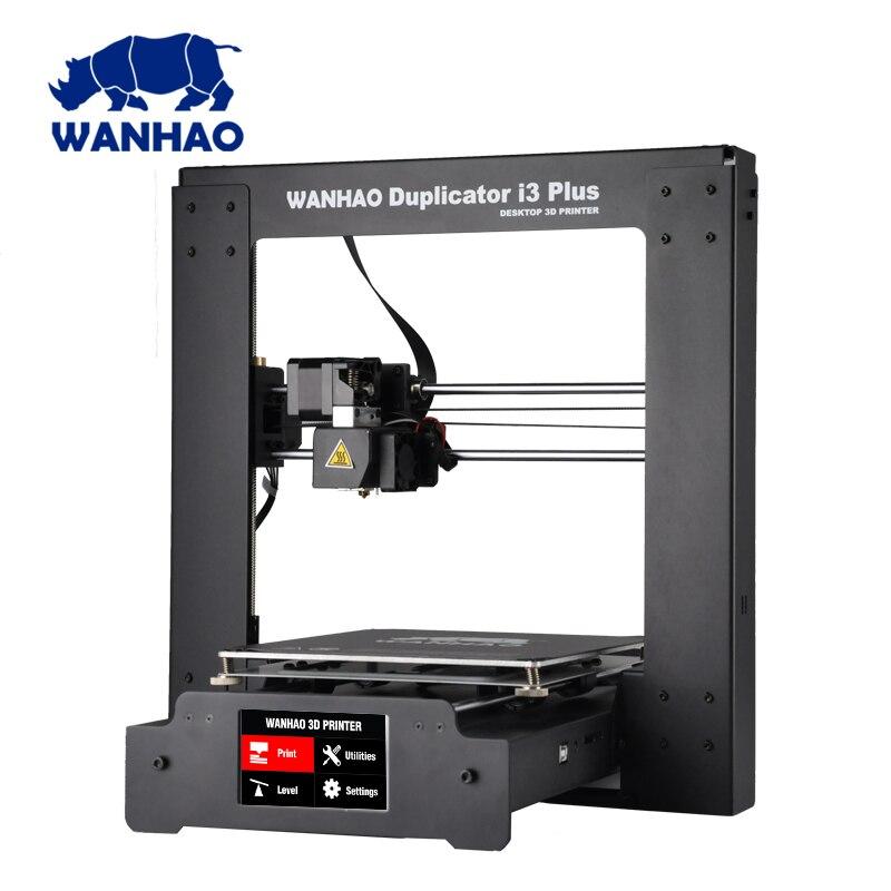 2018 Nouvelle mise à jour WANHAO I3 PLUS 2.0/wanhao i3 plus MK2 Reprap Développeur Prusa WANHAO 3D Imprimante avec Écran Tactile Auto niveau
