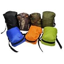 Водонепроницаемый Сумка сухой мешок упаковка сжатого Экономия хранения сумки Открытый Кемпинг Легкий Путешествия верхней части