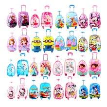 GraspDream girl Аниме Чехол на колесиках для детей, разноцветный чехол для костюма для путешествий, чехол на колесиках для мальчиков, мультяшная сумка на колесиках, детский карандаш