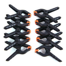 Carpentry Clamps Woodworking Clip Multifonction Grip 10pcs/Lot 2 Inch Handmade Wood-Working Hand Tools A Shape Diy Woodclip