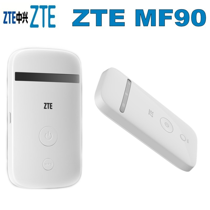 Unlocked ZTE MF90 3G 4G LTE FDD 800//1800//2600 MHz WIFI Hotspot Wireless Router
