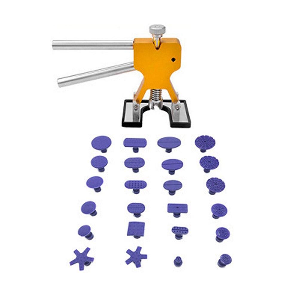 Image 3 - Регулируемые золотые плоскогубцы Зажимные инструменты для ремонта автомобиля вмятин набор инструментов для удаления вмятин кузова автомобиля 24 вкладки вмятин ремонт отправить небольшой подарок