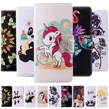 For LG Q Stylo 4 /Stylo4 Case Fashion Painted Flip Leather Cover Q710MS Wallet C