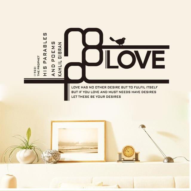 kreative sprüche englisch Neue Design Kreative Mode Liebe Series Englisch Sprüche Dekoration  kreative sprüche englisch
