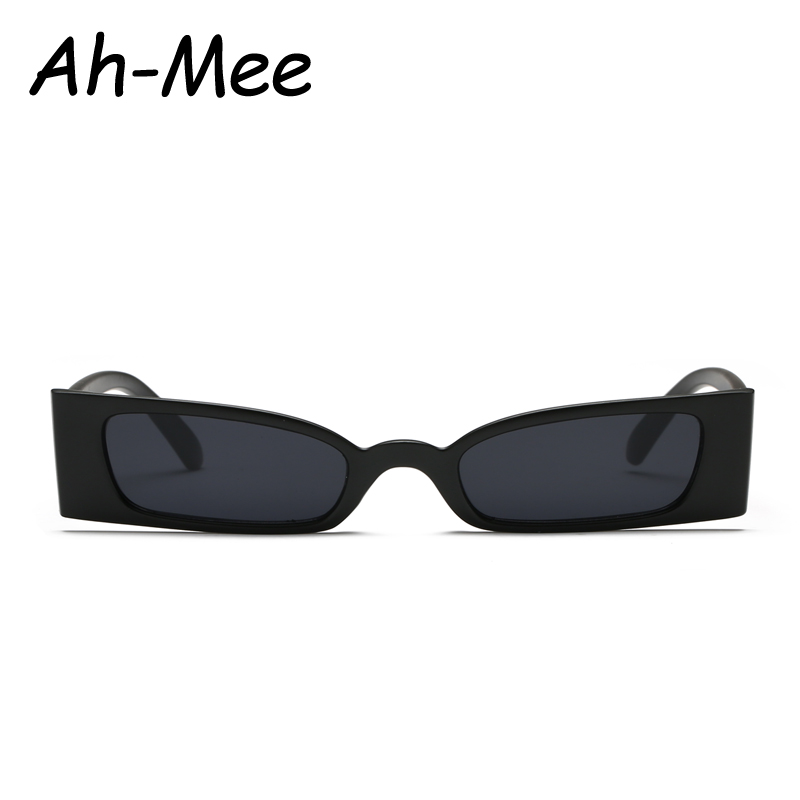 Small Frame Vintage Rectangle Sunglasses Women Brand Designer 2019 Black Sun Glasses Male Retro Narrow Square Glasses Shades