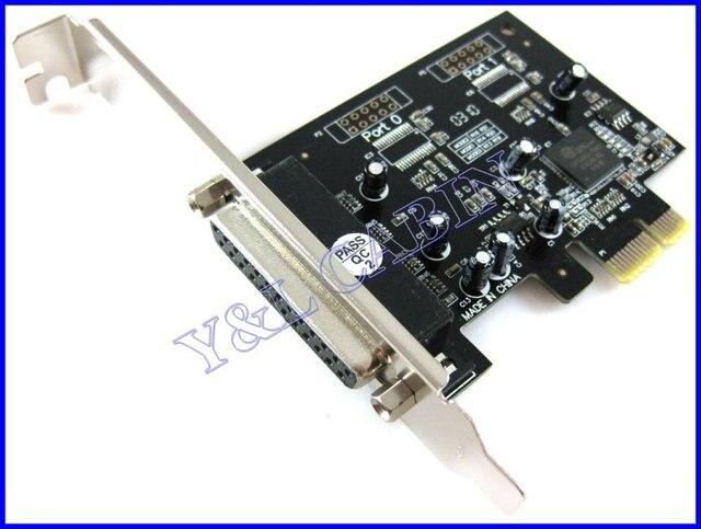 Printer DB25 Parallel Port LPT to PCI-E PCI Express Card Adapter Converter OXFORD OXPCI-e952, Free Shipping, Brand New