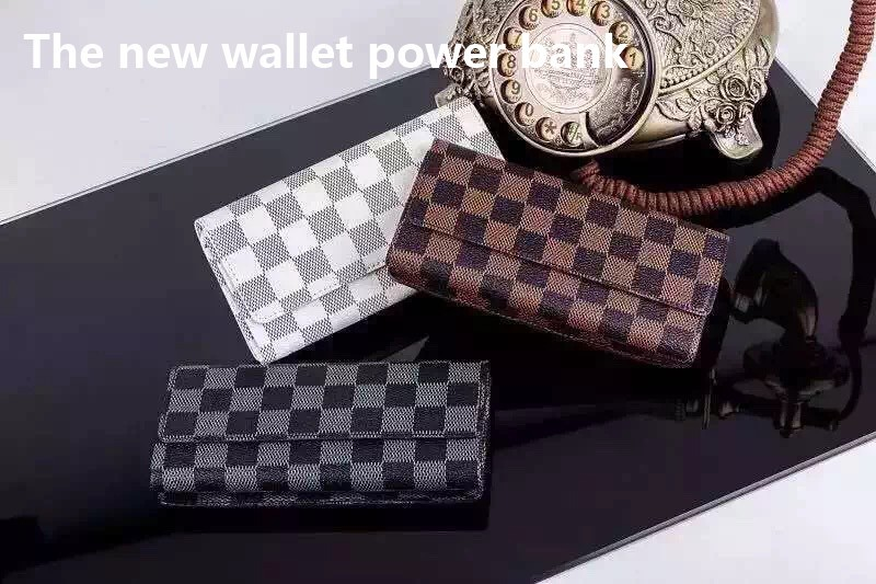 New wallet Mobile Power Bank 8000mah portable charger Battery 8000 mah (1)